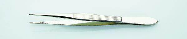 Gräten-Pinzette fein und spitz, 12 cm, vernickelt