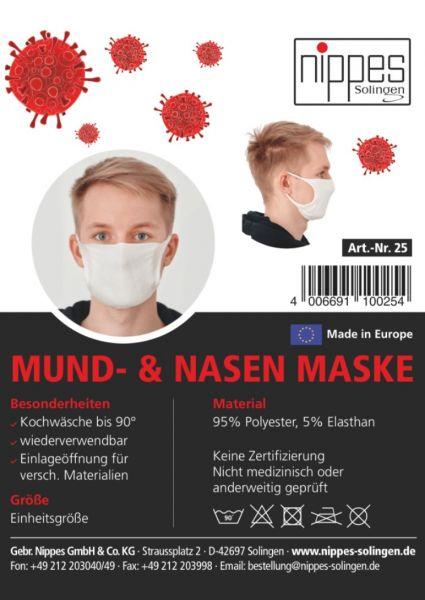 Mund- Nasenmasken Set (5 Stück)
