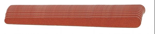 Nagelfeilpapier 18 cm im Bund mit 10 Stück